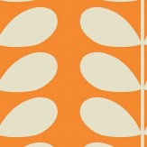 orla kiely scribble wallpaper sample