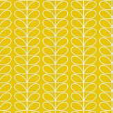 Orla Kiely Linear Stem Yellow Wallpaper