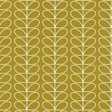 Orla Kiely Linear Stem Antique Green Wallpaper