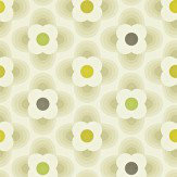 Orla Kiely Multi Striped Petal Beige Wallpaper