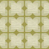 Orla Kiely Flower Tile Wallpaper