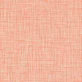 Orla Kiely Scribble Orange Wallpaper