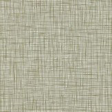 Orla Kiely Scribble Dark Green Wallpaper