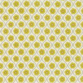 Harlequin Sira Chartreuse / Linen Fabric - Product code: 130334