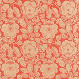 Harlequin Verena Red / Oatmeal Fabric - Product code: 130343