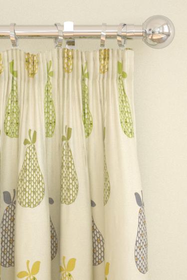 Harlequin Josefa Green / Grey Curtains - Product code: 130351
