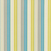 Harlequin Irma Turquoise / Grey / Lime Fabric - Product code: 120114