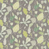Harlequin Flavia Green / Grey Fabric - Product code: 120115