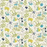 Harlequin Joelle Blue / Green / Yellow Fabric