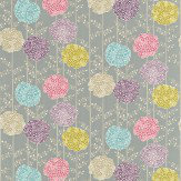 Harlequin Orsina Pink / Aqua / Stone / Purple Fabric - Product code: 120125