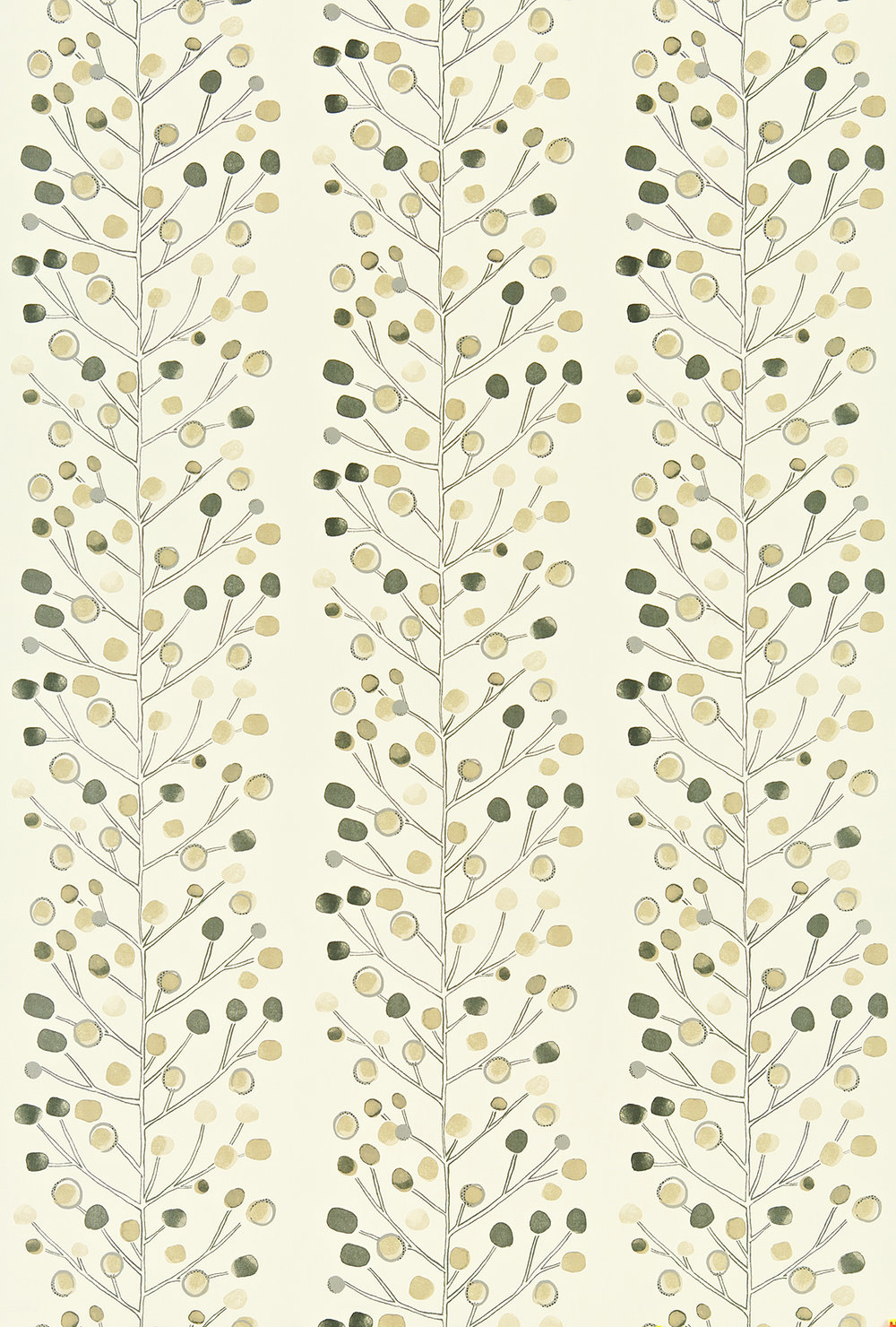 Berry Tree By Scion Cream Beige Wallpaper Direct