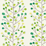 Scion Berry Tree Green Fabric - Product code: 120051