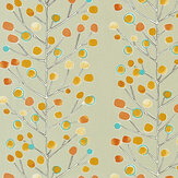 Scion Berry Tree Orange / Blue / Yellow Fabric