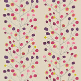 Scion Berry Tree Pink / Purple / Lime Fabric