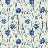 Scion Celandine Blue Fabric - Product code: 120054