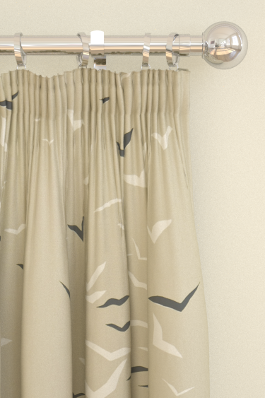 Scion Flight Linen / Grey Curtains - Product code: 120069