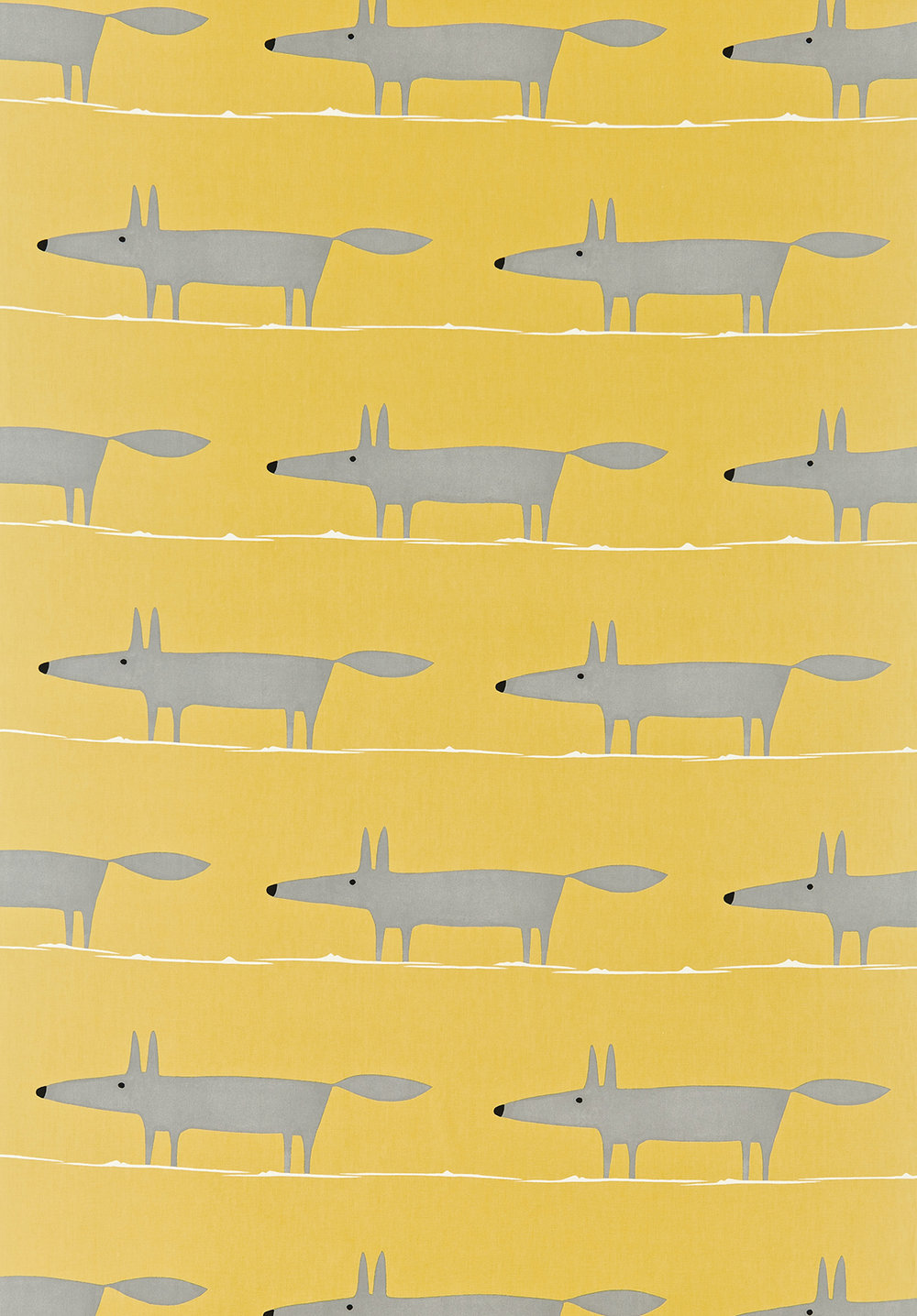 Mr Fox By Scion Yellow Wallpaper Direct