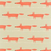 Scion Mr Fox Paprika Fabric - Product code: 120071