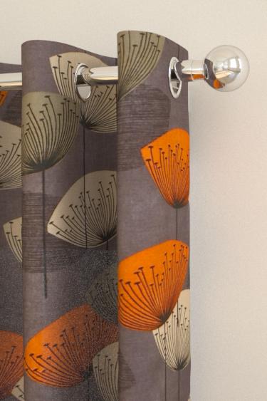 Dandelion clocks curtains by sanderson slate wallpaper - Sanderson dandelion clocks wallpaper ...