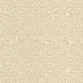 Zoffany Diamonds & Flowers Linen Wallpaper