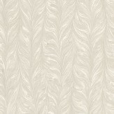 Zoffany Ebru Silver Silver Grey Wallpaper