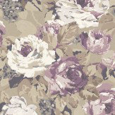 Prestigious Arosa Purple Wallpaper