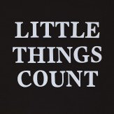Arthouse Little Things Count 3D Canvas Art