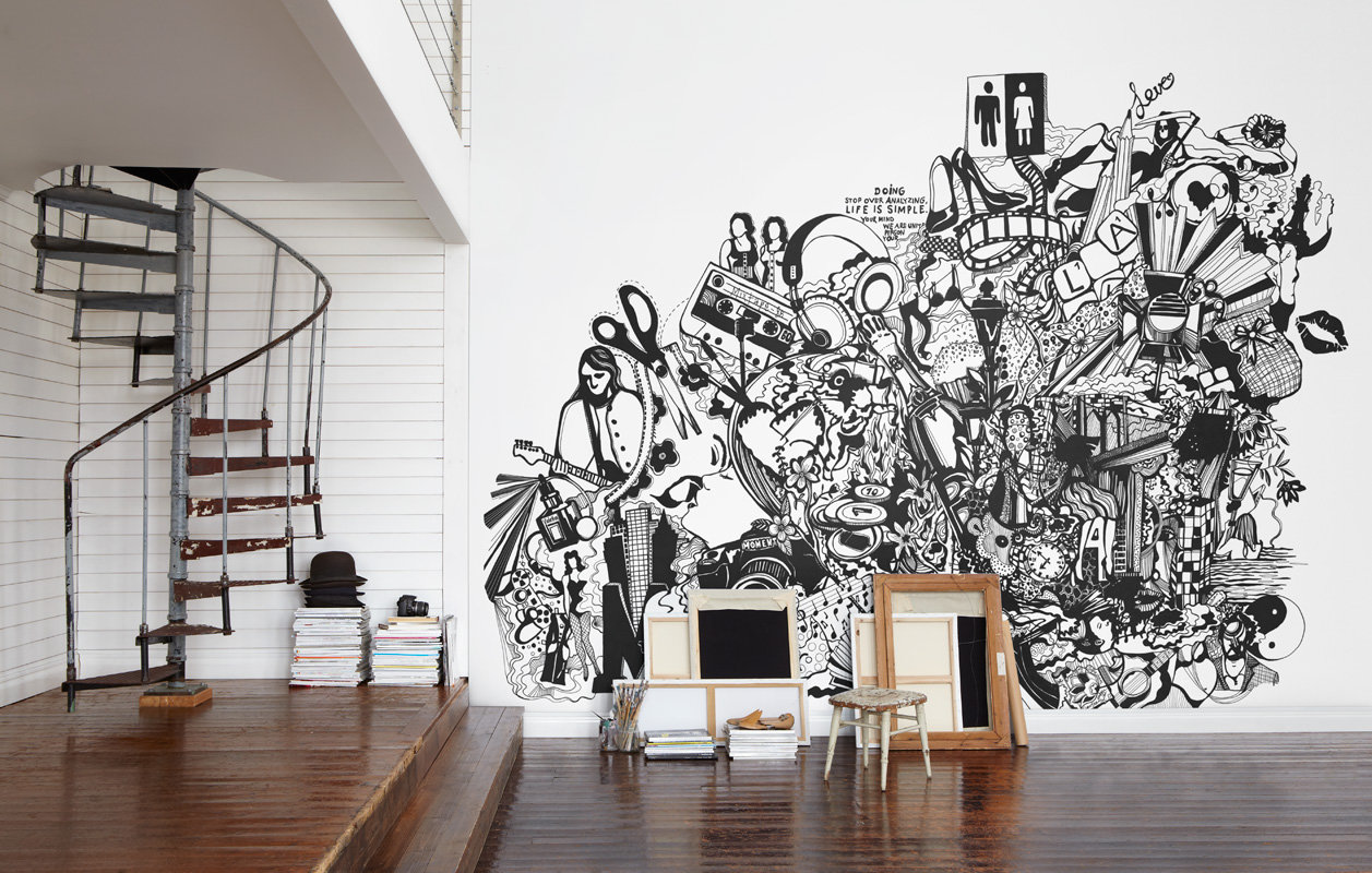 Mr Perswall Never Ending Paper Mural - Product code: P152501-8