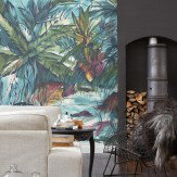 Mr Perswall Tropical Colours Mural