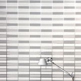 Erica Wakerly Soda White / Silver Wallpaper