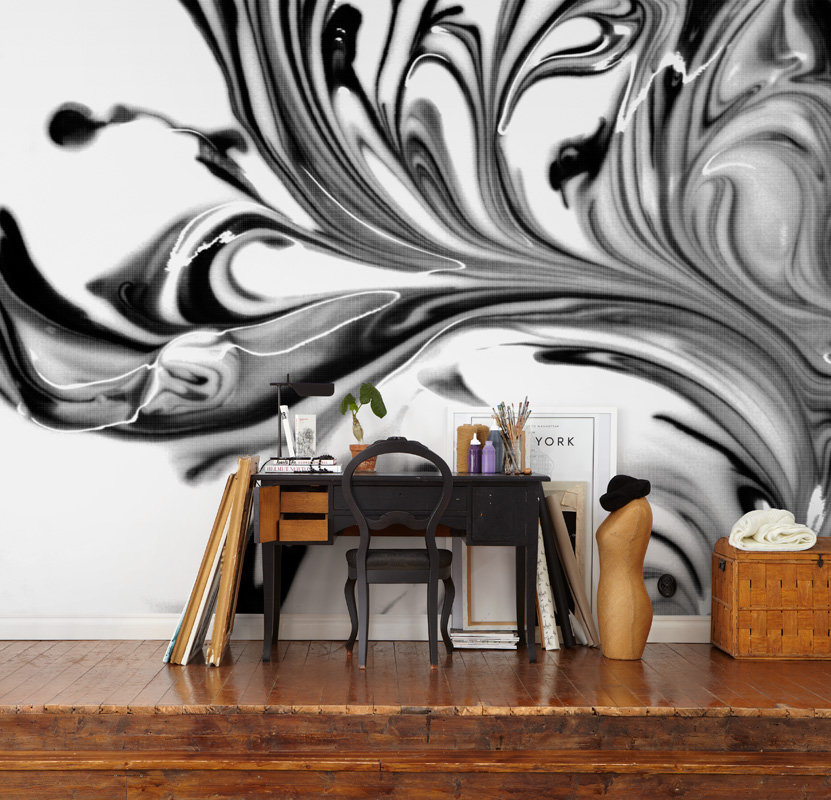 Mr Perswall Canvas Flow Mural - Product code: P152301-8