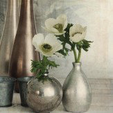 Arthouse Anemones Still Life Superfoil Canvas Art