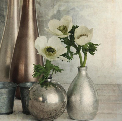 Image of Arthouse Art Anemones Still Life Superfoil Canvas, 002835