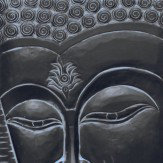 Arthouse Enlightened Buddha Black Art