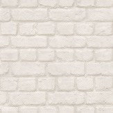Albany Brick Off White Wallpaper