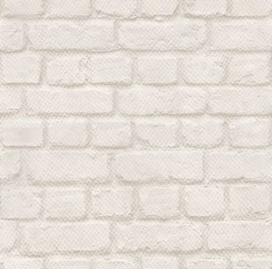 Albany Brick Off White Wallpaper - Product code: 226706