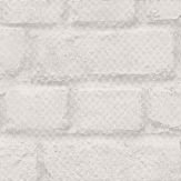Albany Brick Pale Grey Wallpaper