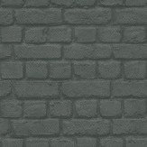 Albany Brick Charcoal Wallpaper