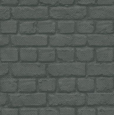 Albany Brick Charcoal Wallpaper - Product code: 226744