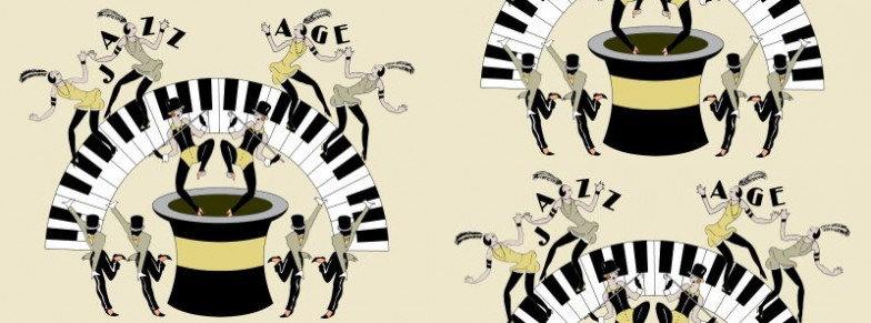 Image of Art Decor Designs Wallpapers Jazz Age 01Y, Jazz Age 01Y