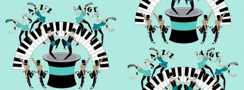 Image of Art Decor Designs Wallpapers Jazz Age 02G, Jazz Age 02G