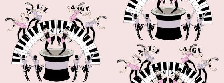Image of Art Decor Designs Wallpapers Jazz Age 03P, Jazz Age 03P