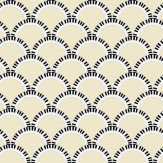 Art Decor Designs Jazz Age 01Y Comp Pale Lemon / Black Wallpaper