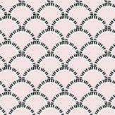 Art Decor Designs Jazz Age 03P Comp Pale Pink / Black Wallpaper