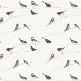 Louise Body Garden Birds  Stone Wallpaper