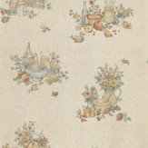 Albany Kitchen Motifs Beige Wallpaper - Product code: 12475