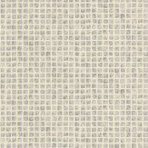 Albany Mosaic Tile Silver Wallpaper