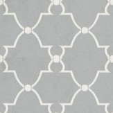 Anna French Lucian Metallic Silver Wallpaper