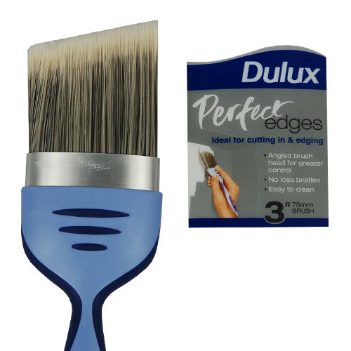 Dulux Perfect Edge Angle Brush 3inch Wallpaper Direct