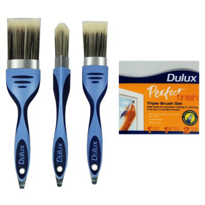 Dulux Perfect Finish Triple Brush Set
